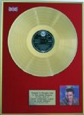 ELVIS PRESLEY -24 Carat Gold Disc LP - THE CHRISTMAS ALBUM